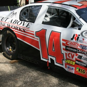 Ryan Heavner 2015 A Cut Above Stoneworks Car Sponsors