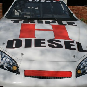 Ryan Heavner 2015 Triple H Diesel Car Sponsors